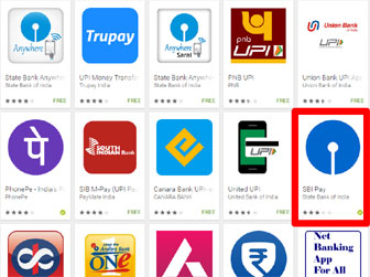 sbi-upi-android-apps