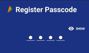 BHIM passcode PIN