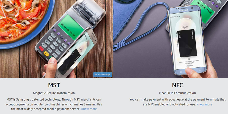 samsung pay supported devices