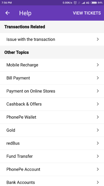 Phonepe Toll-Free