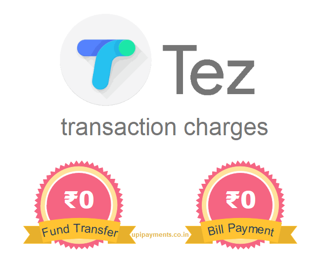 tez money transfer charges
