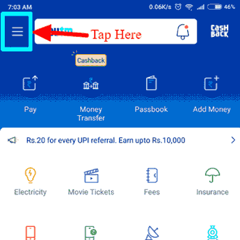 Paytm Screenshot App