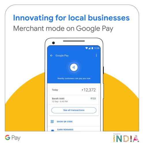 Merchant mode of Google pay