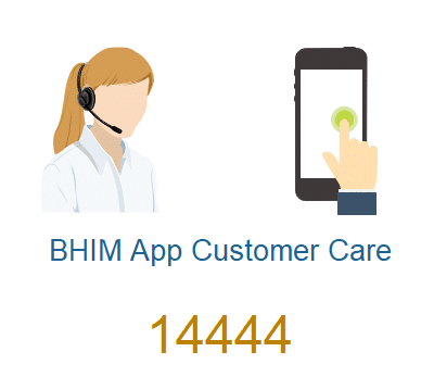 BHIM customer care number