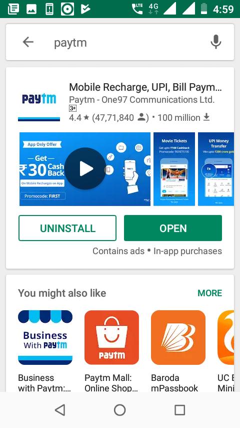 open Paytm