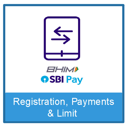 BHIM SBI Pay- Registration, Limit and Money Transfer