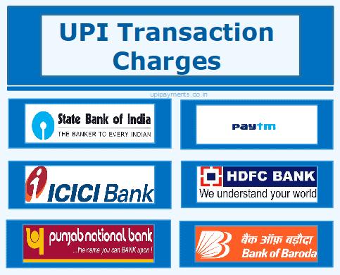 upi transaction charges
