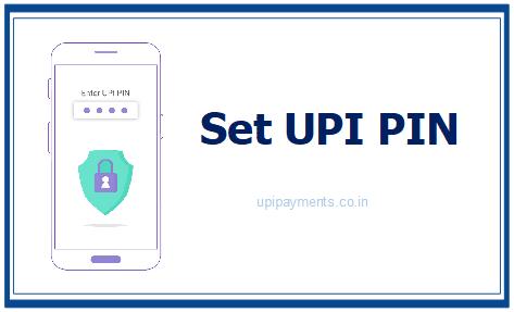 Set UPI PIN