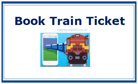 Book train ticket