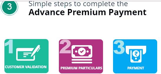 advance premium payment
