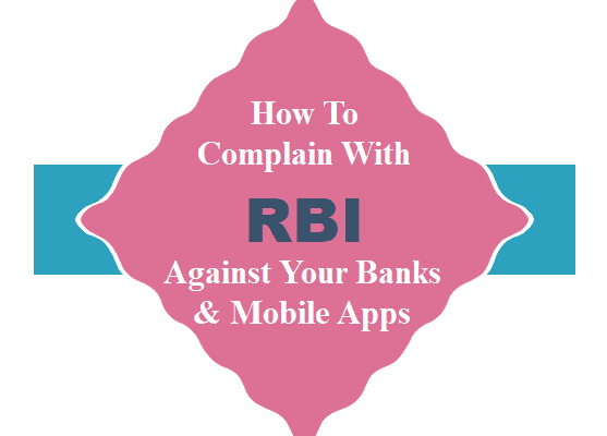 How Complain with RBI