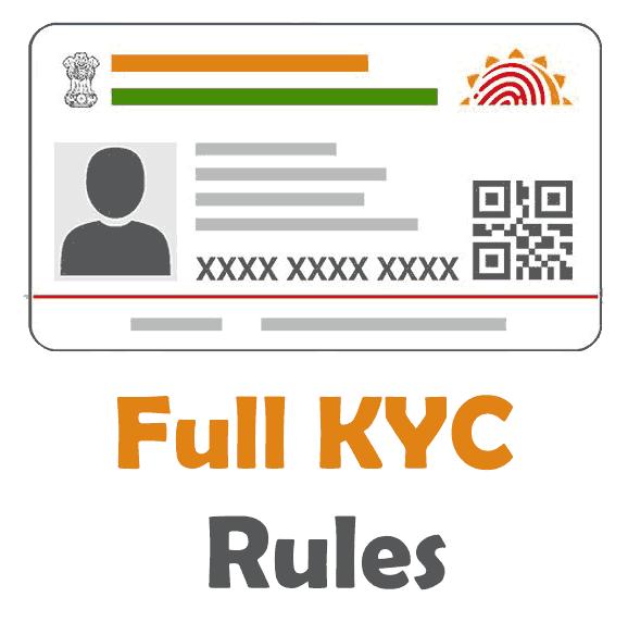 Full KYC Rules
